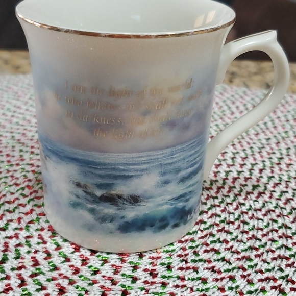 "Lenox ""Light in the mist"" coffee cup"